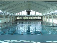 Inside the NISD swimming pool